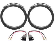 anneaux Haut-Parleur 165mm +Câble Adaptateur pour Seat Leon 1P devant + queue