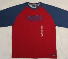Spirit Of America Mens Embroidered Graphic T-Shirt, Short Sleeve Size Large NWOT