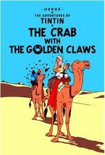 Le Crabe avec The Golden Claws (Adventures Of Tintin) par Herge Livre Relié