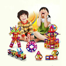 92Pcs Magnetic Construction Building Toys Educational Puzzle Blocks For Kids Us