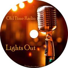 Lights Out Old Time Radio Show OTR 100 Episodes on 1 MP3 CD Free Shipping