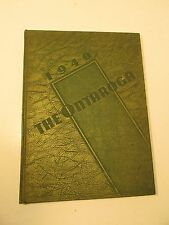 1940 LEES MCRAE COLLEGE Banner Elk NORTH CAROLINA Ontaroga Yearbook ANNUAL NC