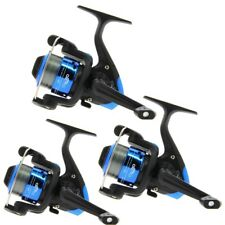 3 Coarse Fishing Reels Star Size 20 for Spinning Float Travel with 8lb Line 1BB