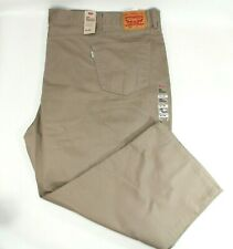 Levis 559 Relaxed Fit Straight Leg Timberwolf Khaki Jeans Men's SZ 62 x 28
