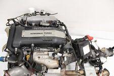 JDM NISSAN 240SX SR20DET S14 94-97 NOTCH TOP COMPLETE ENGINE W/5M.T TRANSMISSION