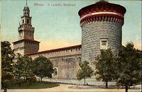 Mailand Milano Italien Italia Lombardei ~1910 Il Castello Sforzesco Burg Festung