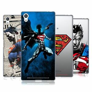 OFFICIAL SUPERMAN DC COMICS 80TH ANNIVERSARY SOFT GEL CASE FOR SONY PHONES 2