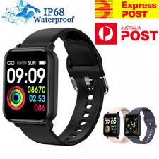 Bluetooth 5.0 Smart Watch Heart Rate Fitness Tracker Waterproof IP68 Bracelet