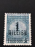 stamp germany 1923 double impression error
