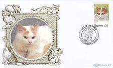 (81172) Guyana Benham FDC Cats - 15 February 2011