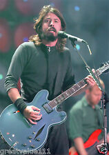FOO FIGHTERS PHOTO DAVE GROHL  UNIQUE UNRELEASED EXCLUSIVE 12INCH CLOSE UP 2007
