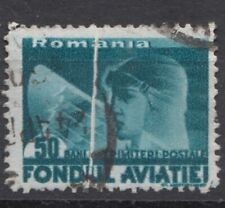 Romania STAMPS AVIATION FUND PLANES PILOT ERROR USED POST