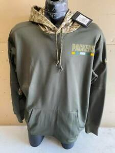 Green Bay Packers NFL Salute to Service Hybrid Jacket - XXL - New w/ Tags