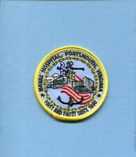 NAVAL HOSPITAL PORTSMOUTH VA US NAVY Base Squadron Hat Jacket Patch