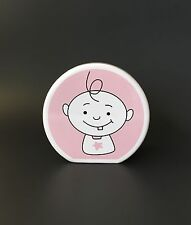 Sugarbooger Pink Ceramic Coin Bank - rounded edges Sugar booger
