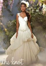 ALFRED ANGELO $1899 NEW 10 DISNEY PRINCESS TIANA 204 IVORY CORSET BALLGOWN DRESS