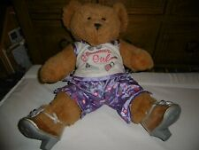 Girls Build a Bear Glamour Girl Outfit with Teddy