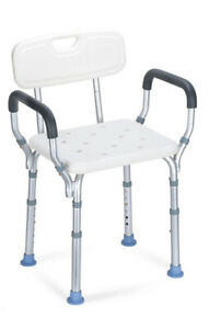 OasisSpace Aluminum Heavy Duty Shower Non Slip Tub Safety Chair New