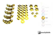 Dress Up Bolts for 96-00 Civic EJ/EK Gold Ti Titanium Engine Bay Kit