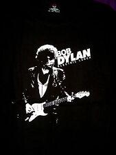 Bob Dylan Concert Tour T-Shirt (2010) Large, Silkscreened Front & Back, Unused