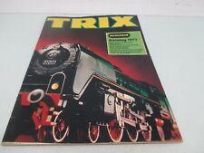 Trix Katalog 1972  (BW248)