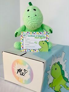 Pickle Crochet Plushie LIMITED Handmade by Moriah Elizabeth's Mom Signed Cert #1
