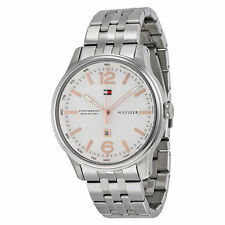 Tommy Hilfiger Stainless Steel Band Watches with Tachymeter