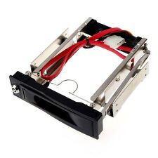 3.5 Inch SATA HDD ROM Hard Disk Tray Drive Mobile Rack Swappable Desktop Salable