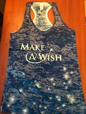 "NHRA DRAG RACING ""MAKE A WISH"" TOMMY JOHNSON LADIES RACER TANK SHIRT  SIZE 2X"