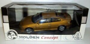 AUTOART 1/18 - 73432 HOLDEN COUPE CONCEPT - METALLIC GOLD NON PRODUCTION MIX