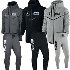 JOGGING AMG MERCEDES XS/S/M/L/XL/XXL HOMME SURVETEMENT NOIR