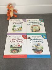 Set of 4 Winnie the Pooh and Friends Books & Tigger soft toy
