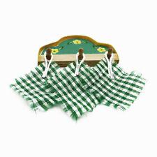 Dollhouse Cloth Mini Kitchen Accessories Pot Oven Cloth Oven Mitt Wooden Shelf