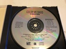 COLOR ME BADD CHOOSE 5 TRACK RARE OOP PROMO REMIX CD FREE SHIPPING PRO-CD-6773-R