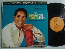 SAM COOKE Hit's of The 50's SOUL LP RCA Orange Label