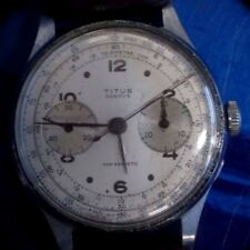 VINTAGE TITUS GENEVE CHRONOGRAPHIC MENS WATCH