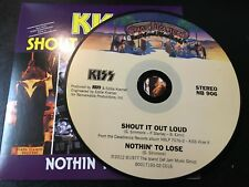 RARE CD Single  Kiss - Shout It Out Lous / Nothin' To Lose CASABLANCA NM