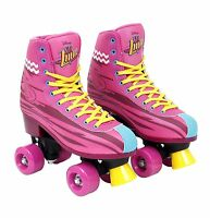 Soy Luna Disney Roller Skates Training Original TV Series Size 32-33/1/21 Yellow