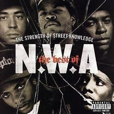 N.W.A (THE STRENGTH OF STREET KNOWLEDGE BEST OF CD - SEALED + FREE POST)