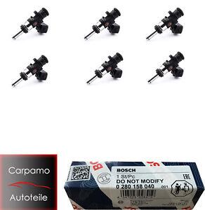 6x Bosch 980CCM Einspritzdüse EV14 Einspritzventil 0 280 158 040 0280158040