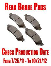 Front and Rear Brake Pads F-250 2008-2012 F-350 2008-2010 Super Duty ONLY!!!