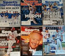 Sports illustrated magazine lot baseball 2015-2016 lot incl.vol.124 and 123