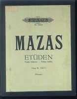 MAZAS ~ Etüden Op. 36 Heft II - gebunden