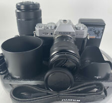 Fujifilm X-T20 Mirrorless Camera (Grey) with XC 16-50mm and XC 50-230 Clean!!!!!