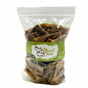 Dog Bones Premium Beef Gullet Chips (8 Oz Reclosable Bag) Healthy Treats