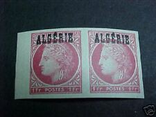 Algeria Scott #200 Lh Imperf Pair
