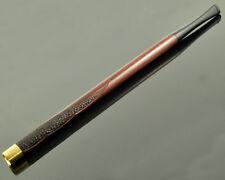 "8.7""/220mm New long wooden cigarette holder engraved, smoking regular cigarettes"