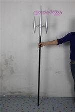 Katekyo Hitman Reborn Chrome Dokuro's Trident cosplay props wood pvc made