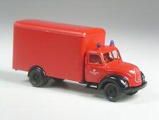 Klasse: Brekina # 4203 Magirus Koffer Feuerwehr Krefeld in OVP