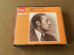 Jascha Heifetz - Recital - EMI Classics - 2 CDs - CHS 7649292